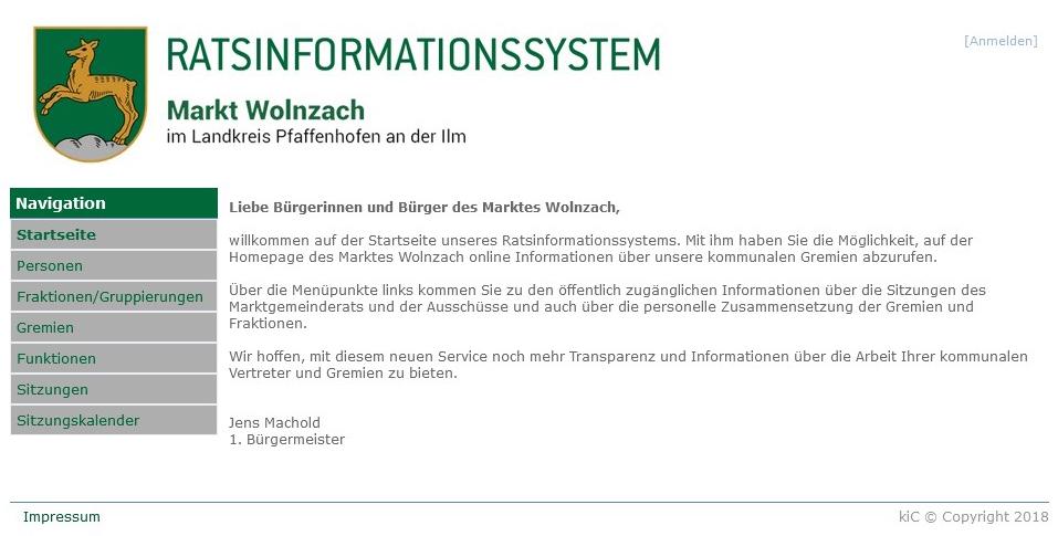Ratsinformationssystem RIS
