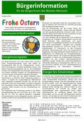 Bürgerinformation April 2016