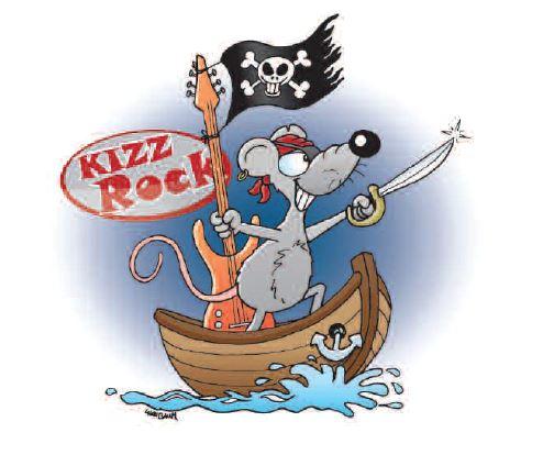 Grossansicht in neuem Fenster: Kizz Rock Ratte im Boot