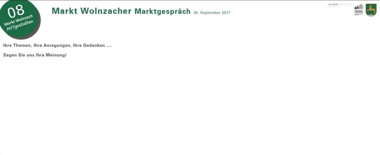 Grossansicht in neuem Fenster: ISEK - Wolnzacher Marktgespräch am 30.09.2017 - Flyer Seite 9
