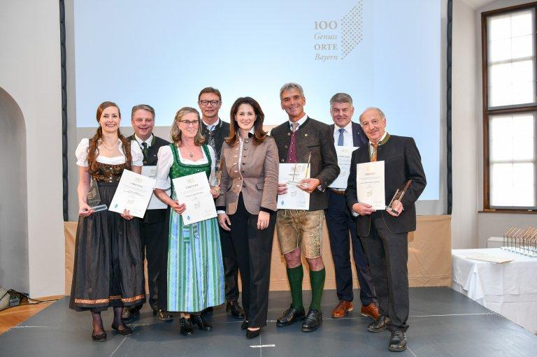 Genussorte Bayerns Auszeichnung Gruppe Oberbayern