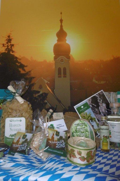 Genussorte Bayerns Wolnzach mit Kirche