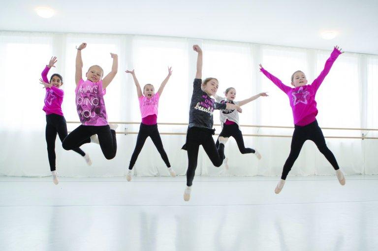 Grossansicht in neuem Fenster: Jazzdance ab 8 Jahre