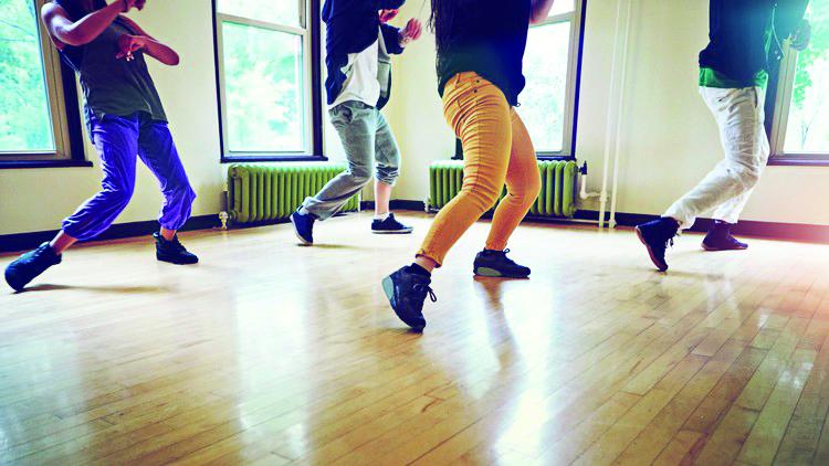Grossansicht in neuem Fenster: Shuffle Dance ab 8 Jahre
