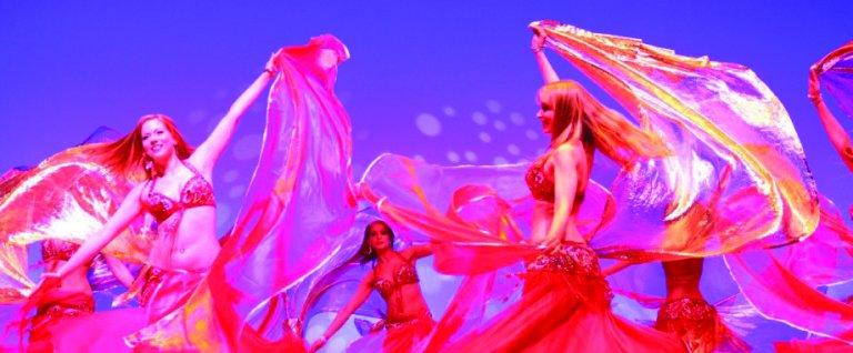 Grossansicht in neuem Fenster: Orientalischer Tanz ab 6 Jahre