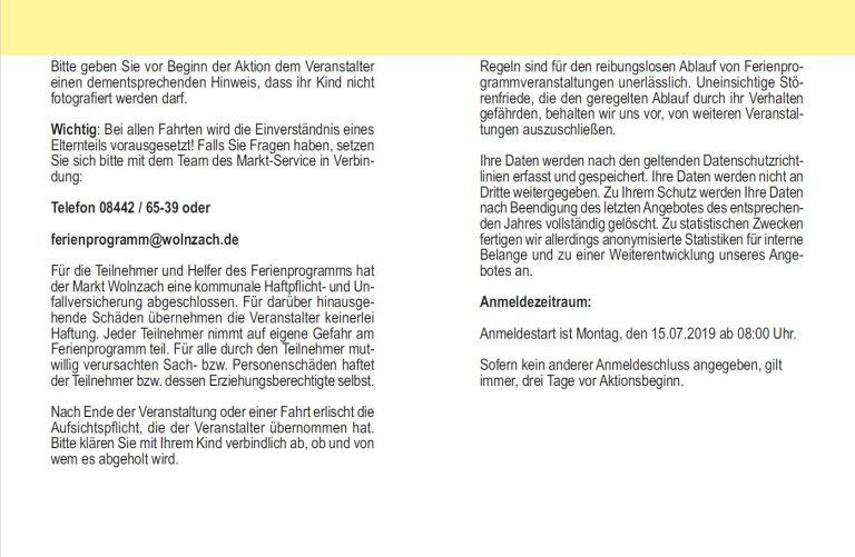 Grossansicht in neuem Fenster: Online-Anmeldung - Erklärung Seite 2