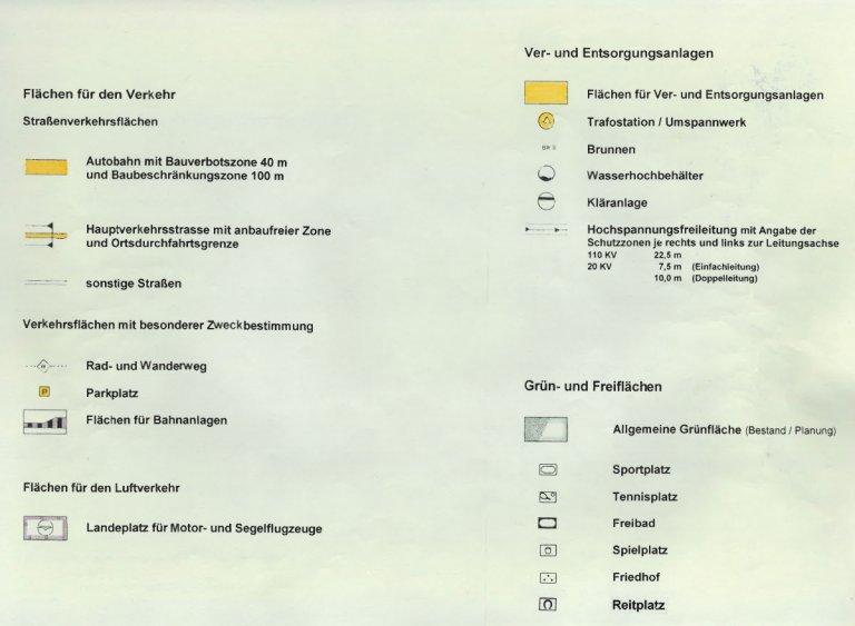 Grossansicht in neuem Fenster: Legende Flächennutzungspläne (FNP) - Seite 2