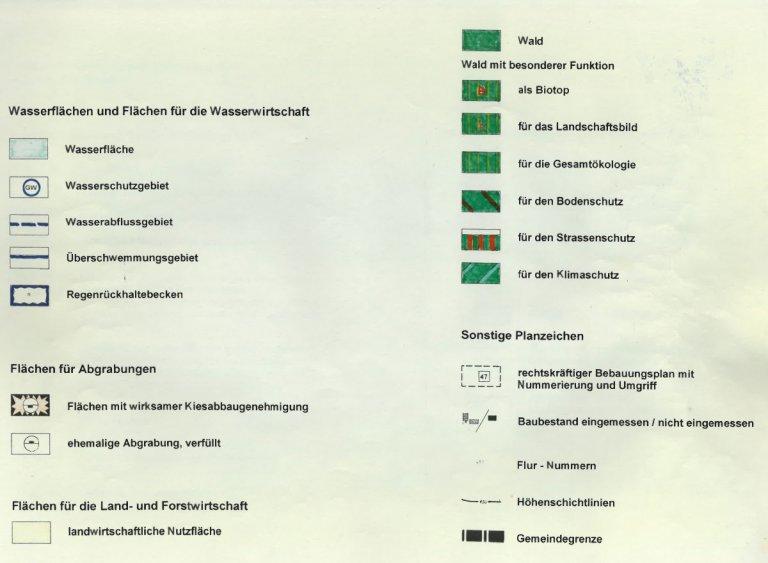 Grossansicht in neuem Fenster: Legende Flächennutzungspläne (FNP) - Seite 3