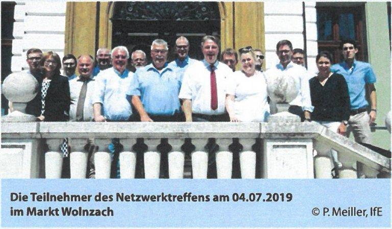 Netzwerktreffen Markt Wolnzach Juli 2019