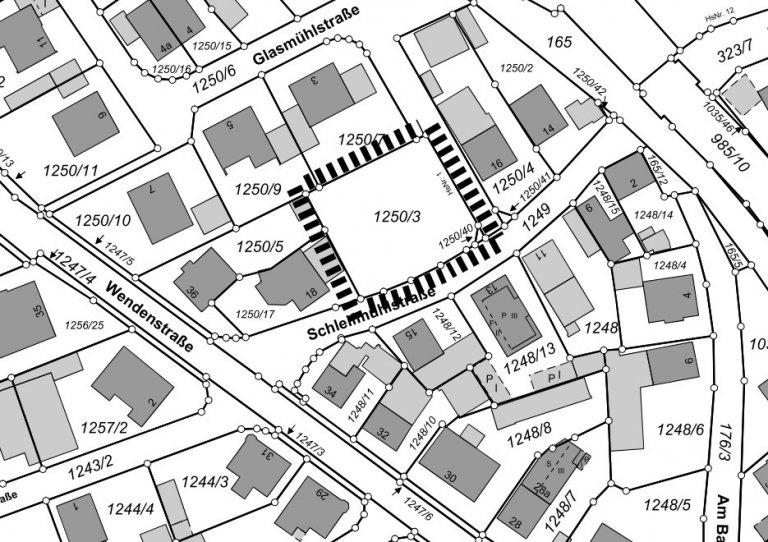 Umgriff Bebauungsplan Nr. 30  An der Josef-Reindl-Straße