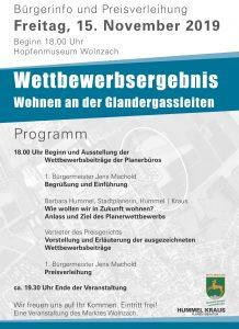 Wettbewerbsergebnis – Wohnen an der Glandergassleiten - Plakat Seite 2