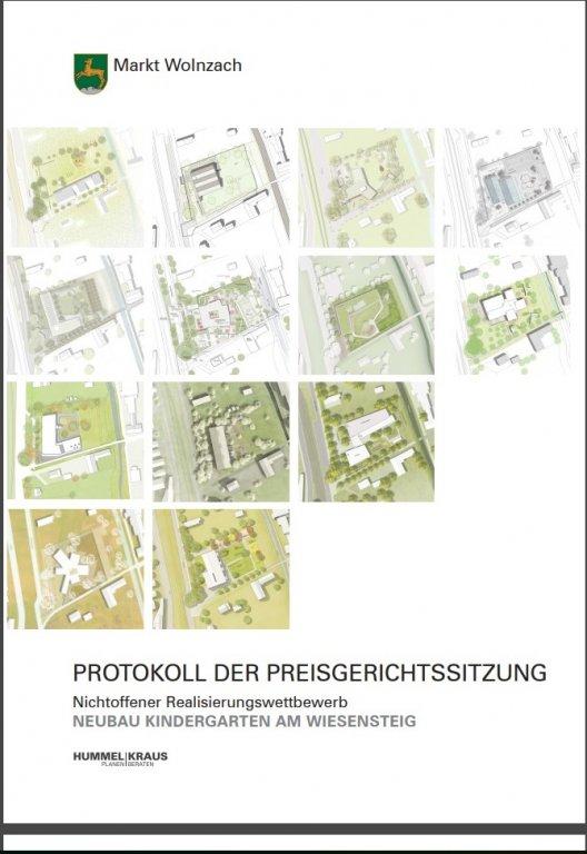 Grossansicht in neuem Fenster: Titelbild Protokoll Kindergarten Wiesensteig