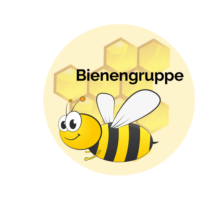 Button Bienengruppe